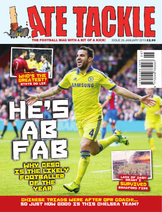 Late Tackle Football Magazine January 2015