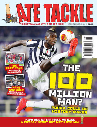 Late Tackle Football Magazine March 2015