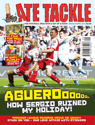 Late Tackle Football Magazine April 2015