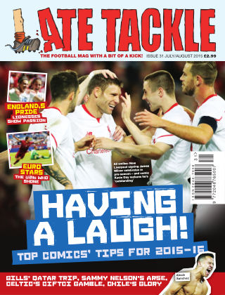 Late Tackle Football Magazine Jul - Aug 2015