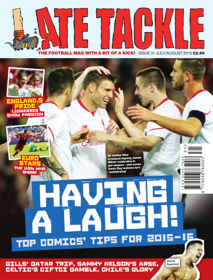 Late Tackle Football Magazine July 23, 2015 00:00