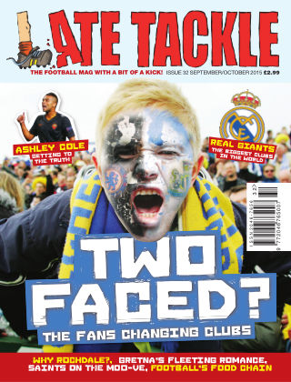 Late Tackle Football Magazine Sep - Oct 2015