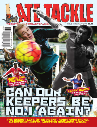 Late Tackle Football Magazine Mar - Apr 2016