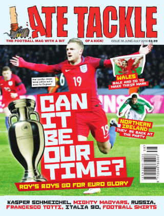 Late Tackle Football Magazine Jun - Jul 2016