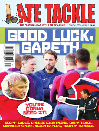 Late Tackle Football Magazine Oct - Nov 2016