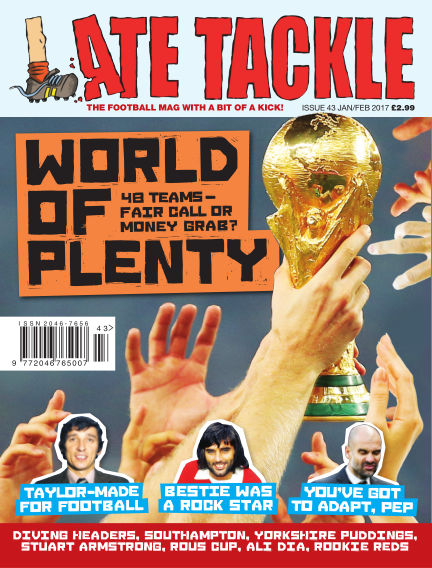Late Tackle Football Magazine January 19, 2017 00:00