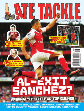 Late Tackle Football Magazine Apr - May 2017