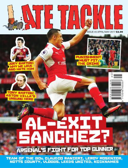 Late Tackle Football Magazine April 20, 2017 00:00