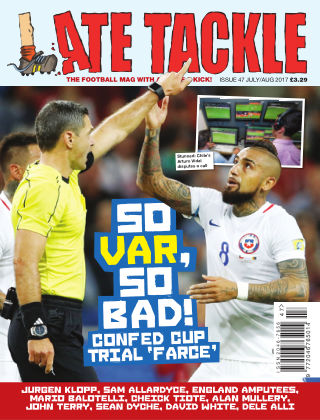 Late Tackle Football Magazine Jul - Aug 2017