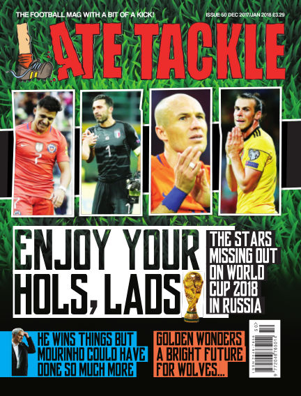 Late Tackle Football Magazine November 23, 2017 00:00