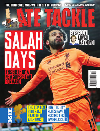 Late Tackle Football Magazine May / June