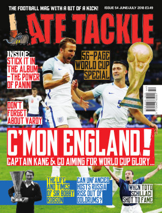 Late Tackle Football Magazine June/July 2018