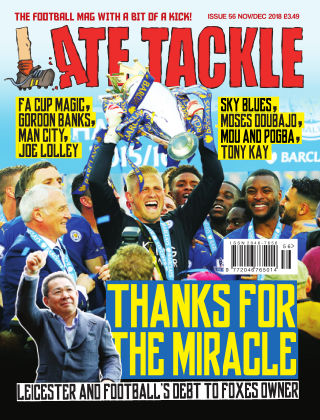 Late Tackle Football Magazine 4th November 2018