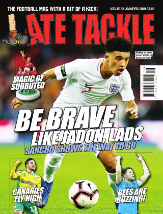Late Tackle Football Magazine 12th January 2019
