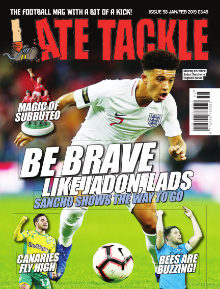 Late Tackle Football Magazine January 17, 2019 00:00