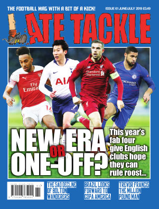 Late Tackle Football Magazine 19th April 2019