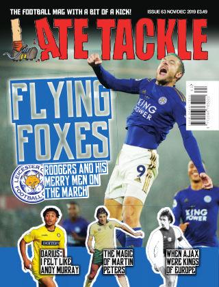 Late Tackle Football Magazine 2nd November 2019