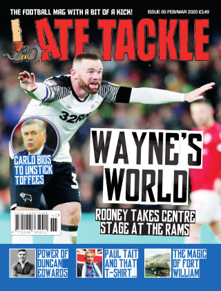 Late Tackle Football Magazine 22nd January 2020