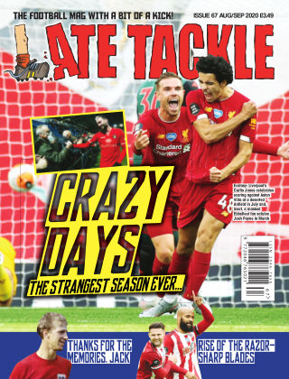 Late Tackle Football Magazine 18th July 2020