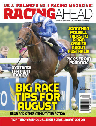 Racing Ahead August 2014