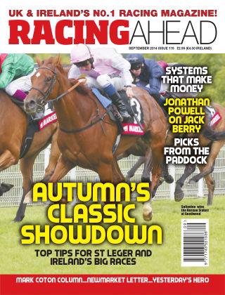 Racing Ahead September 2014