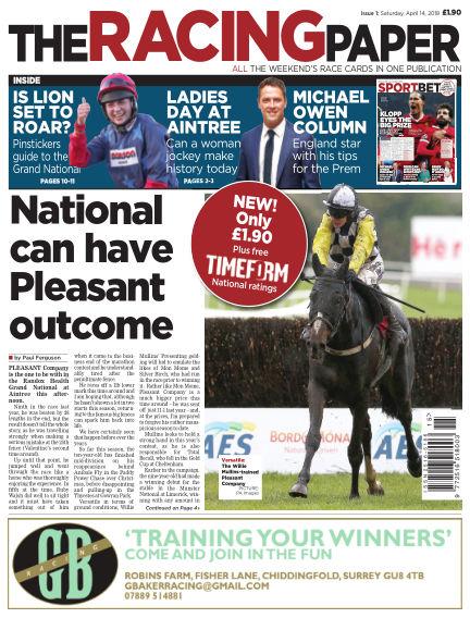 The Racing Paper April 16, 2018 00:00