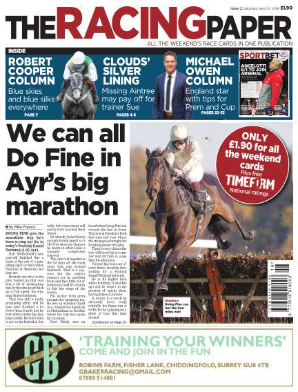 The Racing Paper April 21, 2018 00:00