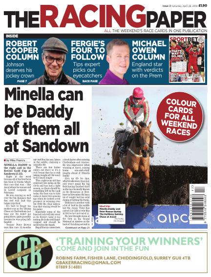 The Racing Paper April 28, 2018 00:00
