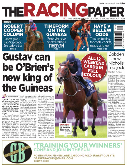The Racing Paper May 05, 2018 00:00