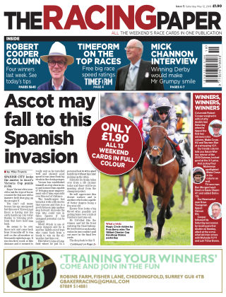 The Racing Paper 12th May 2018