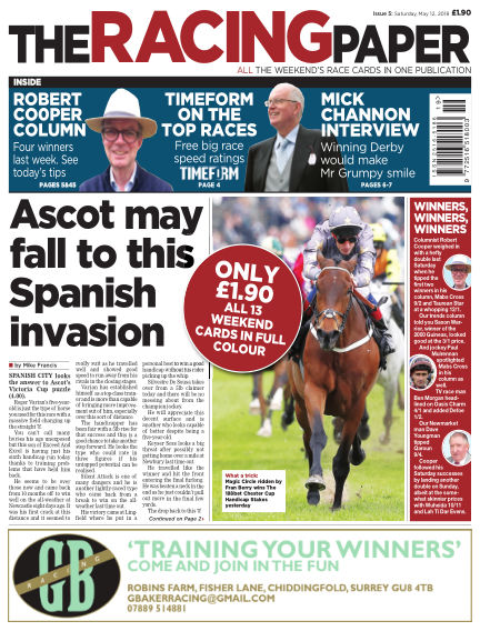 The Racing Paper May 12, 2018 00:00