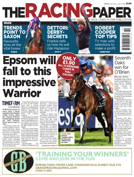 The Racing Paper June 02, 2018 00:00