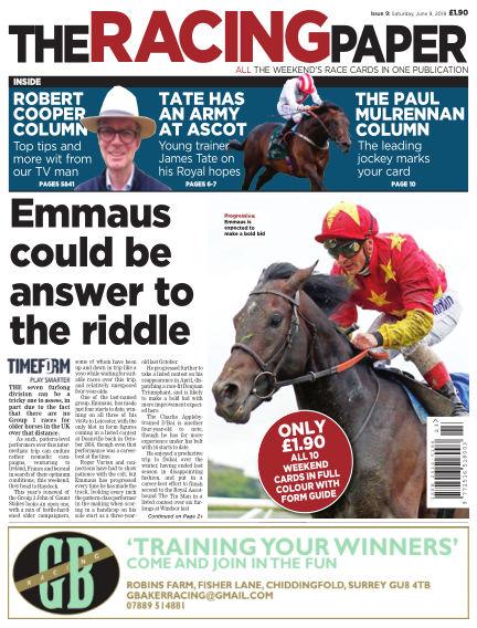 The Racing Paper June 09, 2018 00:00