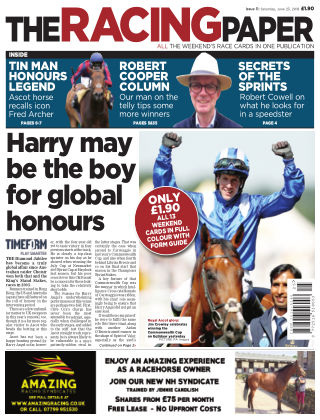 The Racing Paper 23rd June 2018