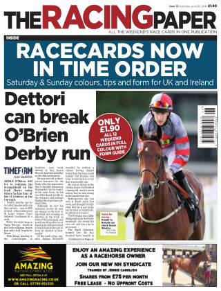 The Racing Paper 30st June 2018