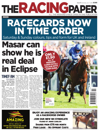 The Racing Paper 7th July 2018