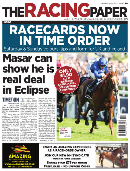 The Racing Paper July 07, 2018 00:00