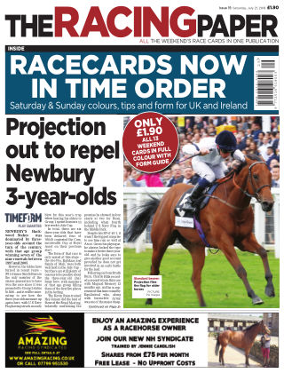 The Racing Paper 21st July 2018