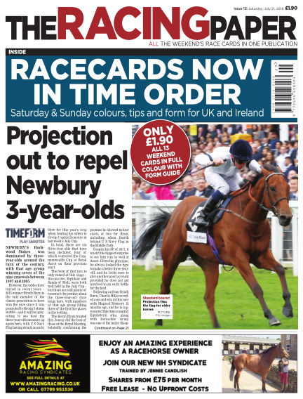 The Racing Paper July 21, 2018 00:00