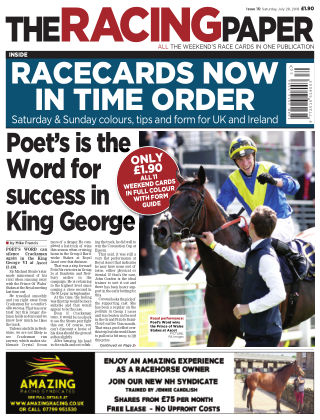 The Racing Paper 28th July 2018