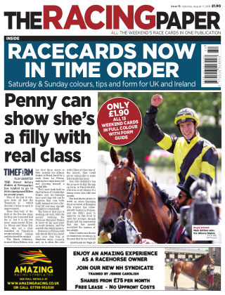 The Racing Paper 11th August 2018