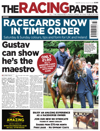 The Racing Paper 18th August 2018