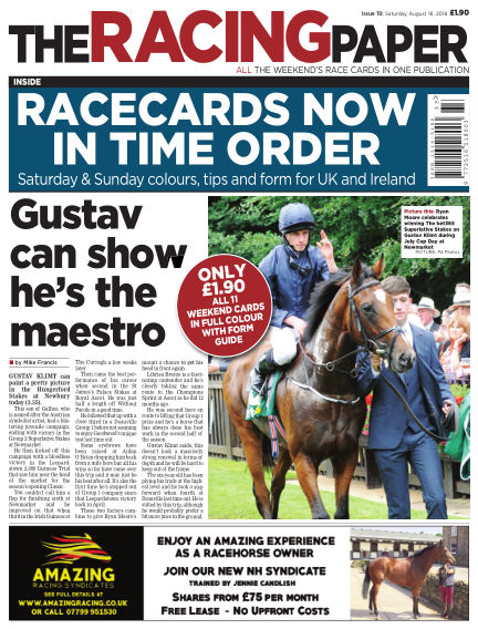 The Racing Paper August 18, 2018 00:00