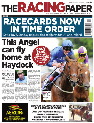 The Racing Paper 8th September 2018