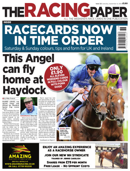 The Racing Paper September 08, 2018 00:00
