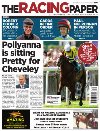 The Racing Paper 29th September 2018