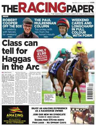 The Racing Paper 6th October 2018