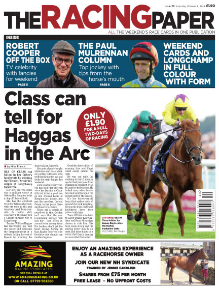 The Racing Paper October 06, 2018 00:00
