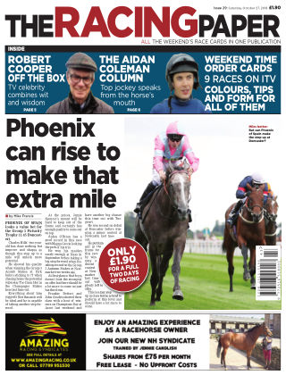 The Racing Paper 27th October 2018