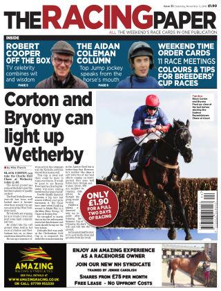 The Racing Paper 3rd November 2018